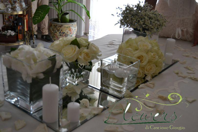 Tavolo casa sposa di flowers foto 15 - Tavolo sposa a casa ...