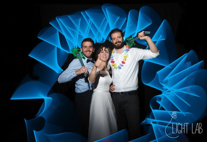 Light Painting Photo Booth