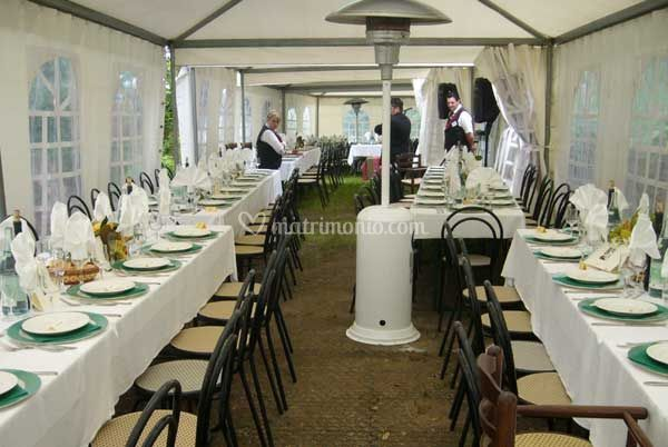Catering interno pagode