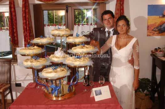 Torta blu passion