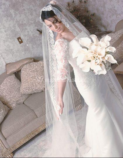 La sposa in tutto il suo splen