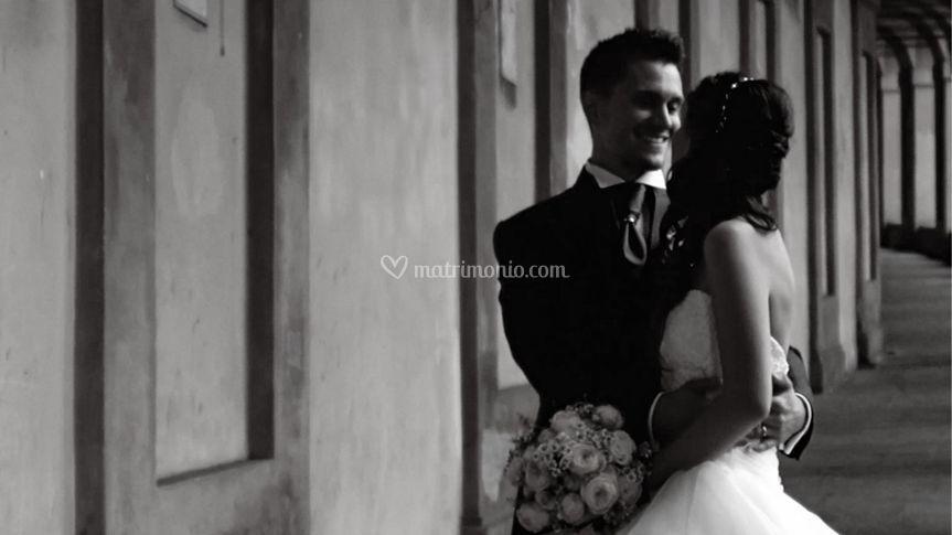 Frame del video del matrimonio