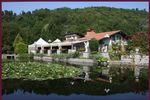 Vista della villa di Villa Laghetto Monchery