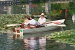 Sposi in barca di Villa Laghetto Monchery
