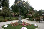Lampione di Villa Laghetto Monchery