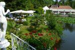 Allestimento esterno di Villa Laghetto Monchery