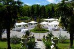 Panoramica piazzale di Villa Laghetto Monchery