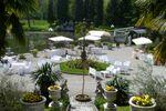 Cortile di Villa Laghetto Monchery