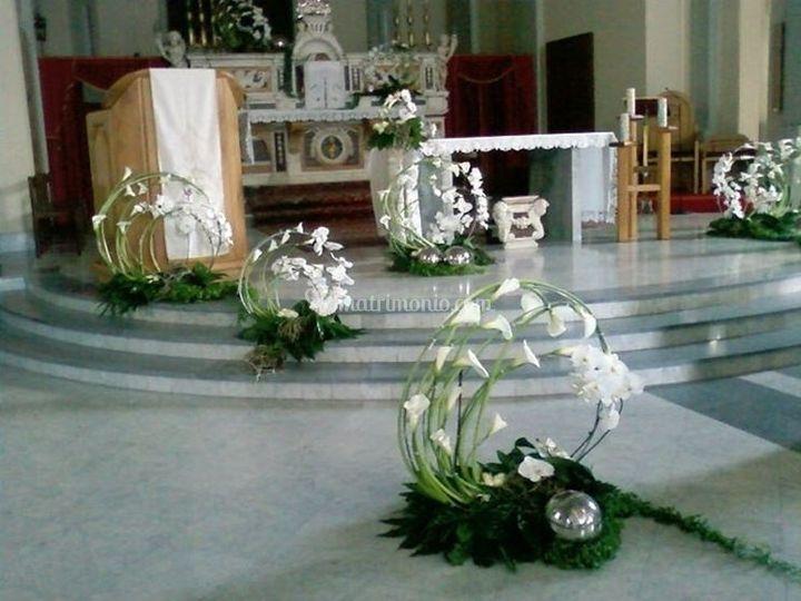 Composizioni Fiori Matrimonio Girasoli : Composizioni con calle di eventi flowers foto