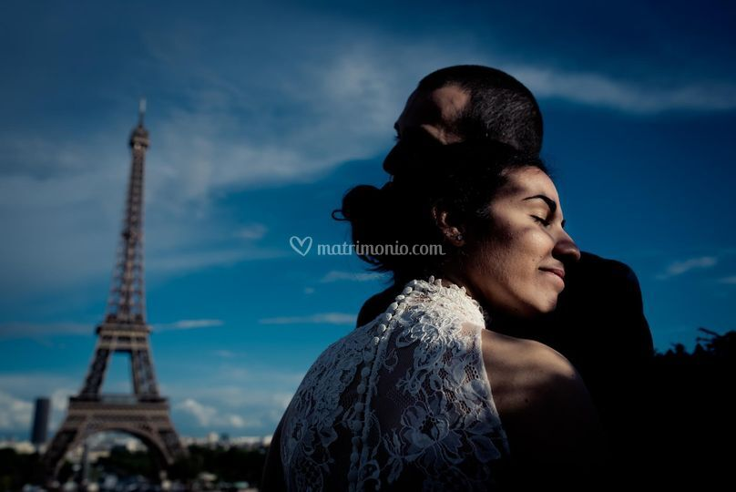Elopement tour eiffel paris