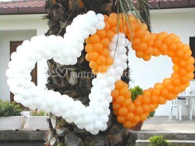 Cuori di palloncini