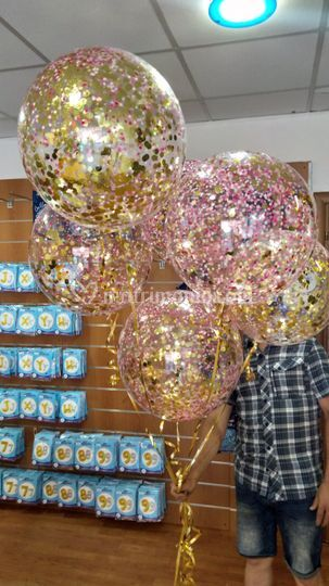 Palloncini con glitter