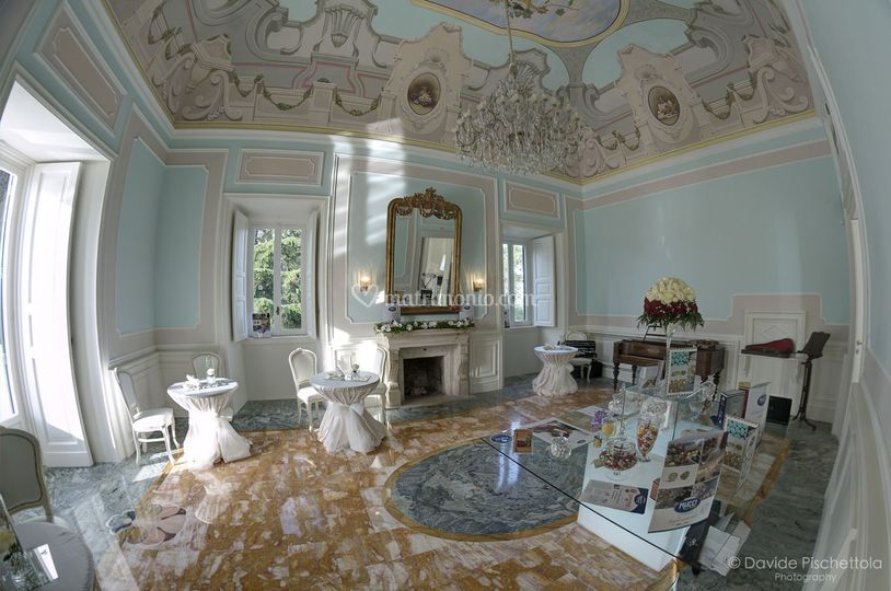 Villa ciardi for Saloni interni