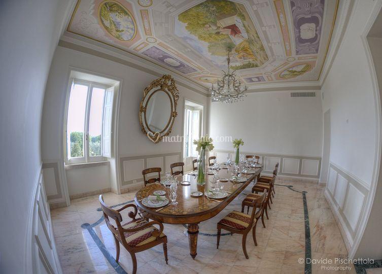 Villa ciardi for Saloni interni