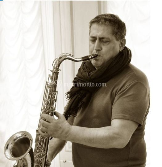 Sax in action