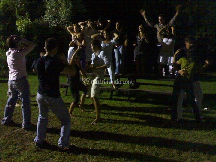 Animazione ballo festa privata