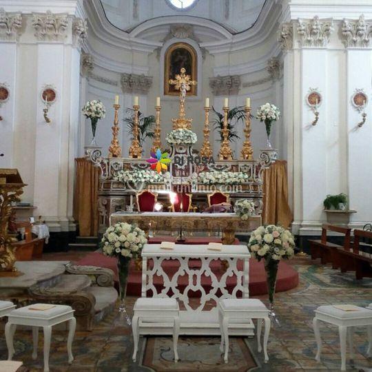 Addobbo altare