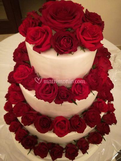 Torta Floreale Di Di Rosa Floral Designer Foto 51