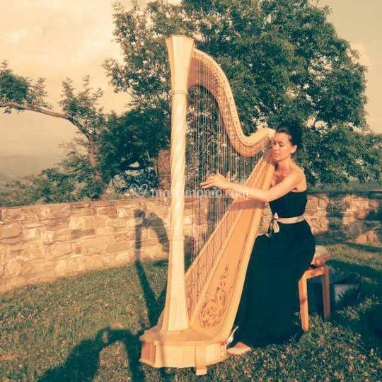Ester Pavlic, arpa e voce