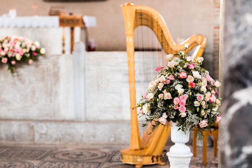 Un matrimonio elegante