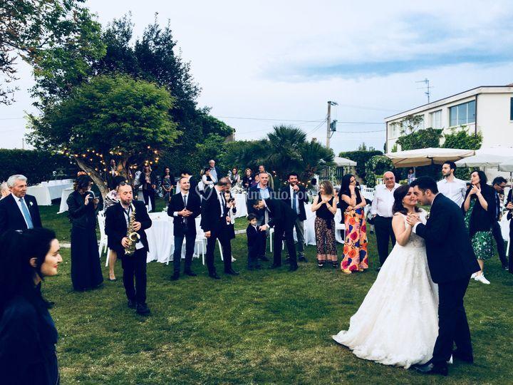 Ballo sposi con sax