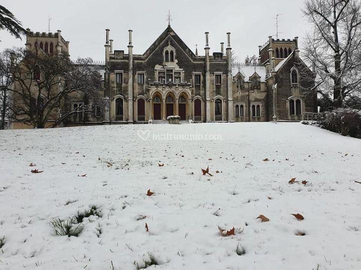 Neve in Castello