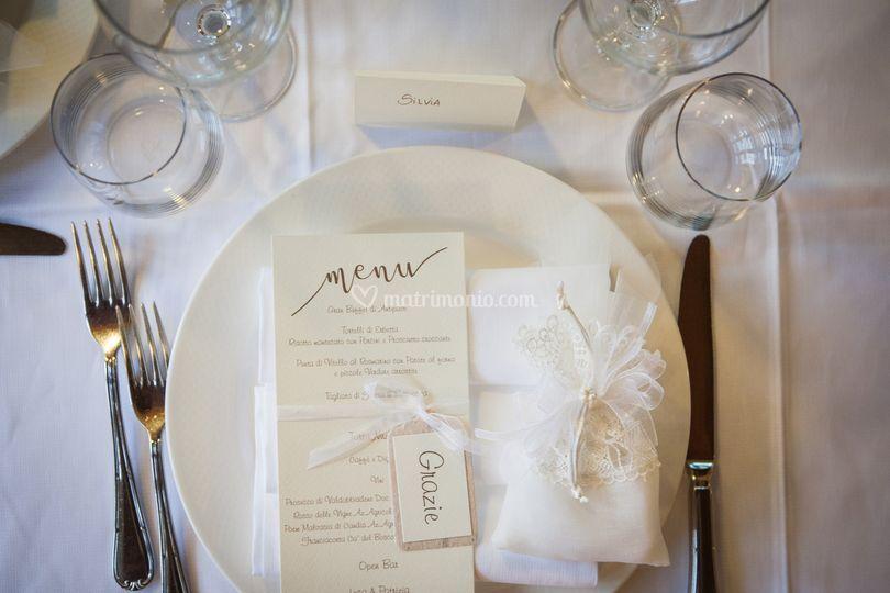 Il tavolo degli ospiti