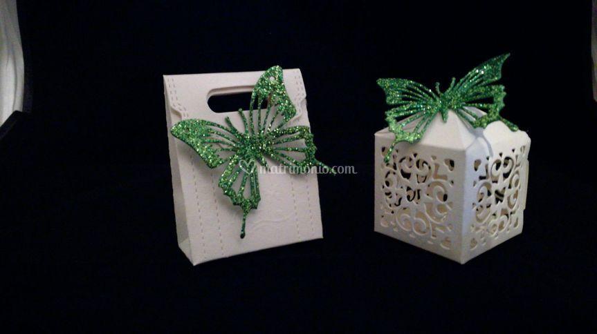 Scatolini porta confetti/riso