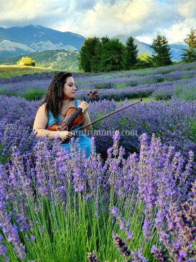 Violinista Beatrice Limonti