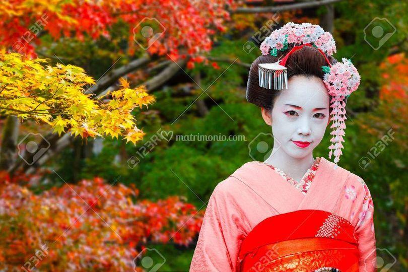 Maiko apprendista geisha
