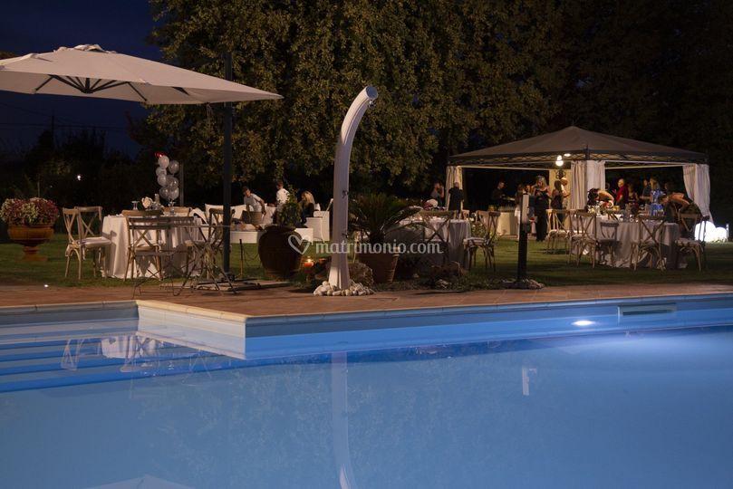 Buffet a bordo piscina