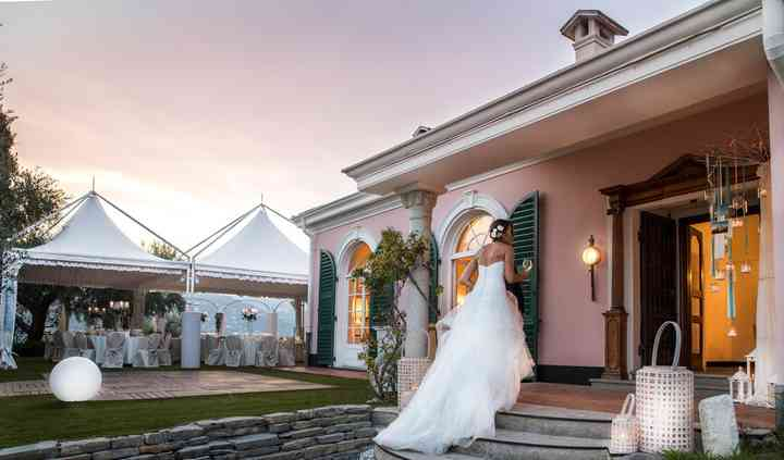 Sposa all'entrata