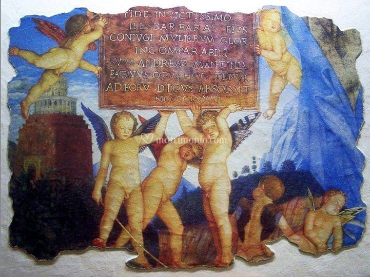 Affresco Mantegna