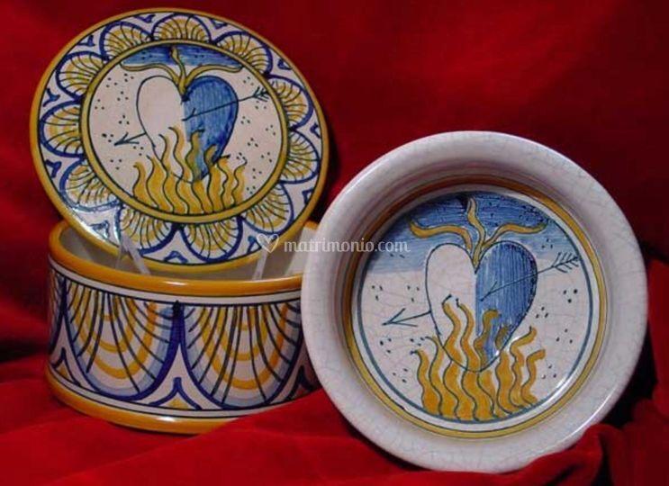 Ceramiche d'amore medievali