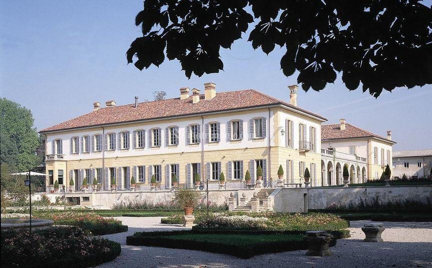 Facciata Villa Trivulzio
