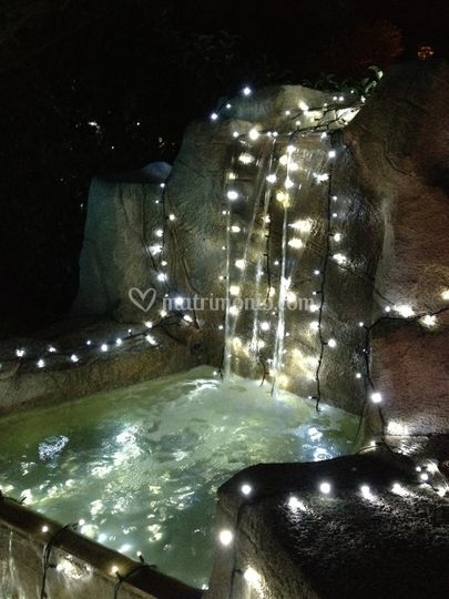 Giardino led luce fredda