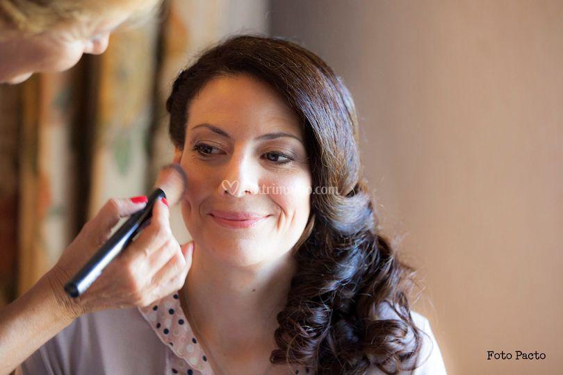 Emanuela sposa al make up