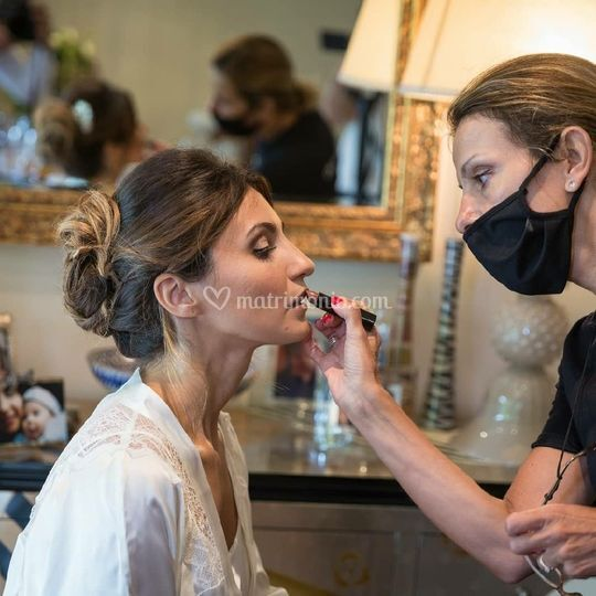 Serena al make-up