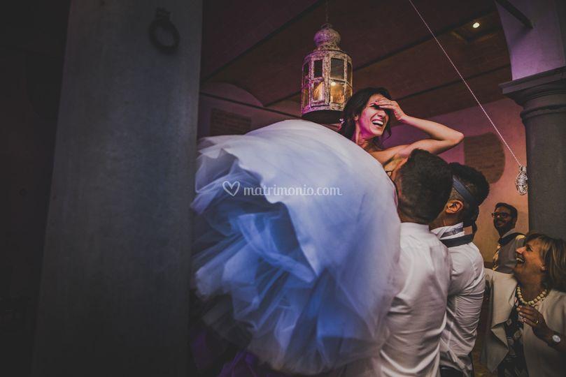 Flying Bride!
