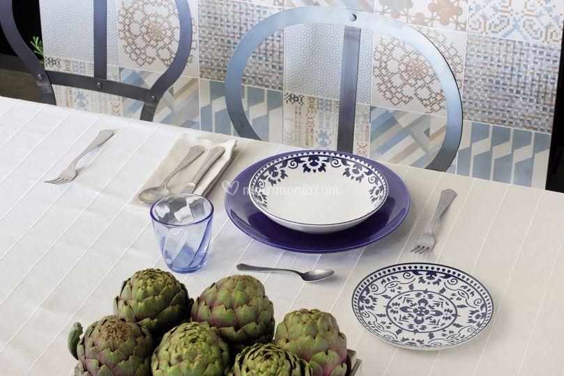Tognana piatti tavola colorati