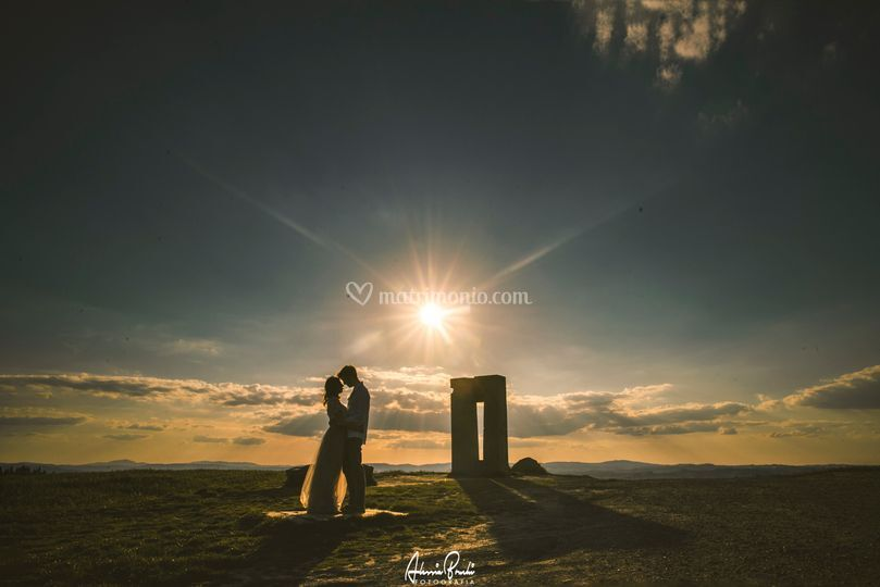 Engagement in Tuscany