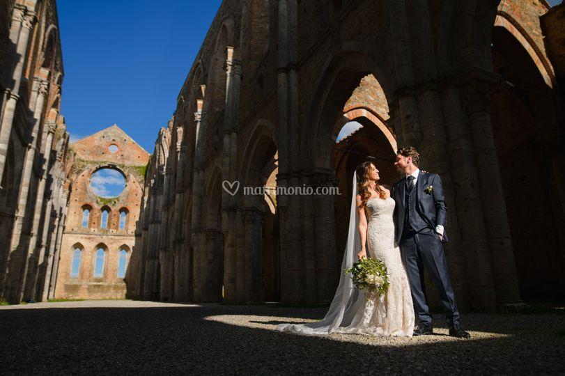 Wedding in San Galgano