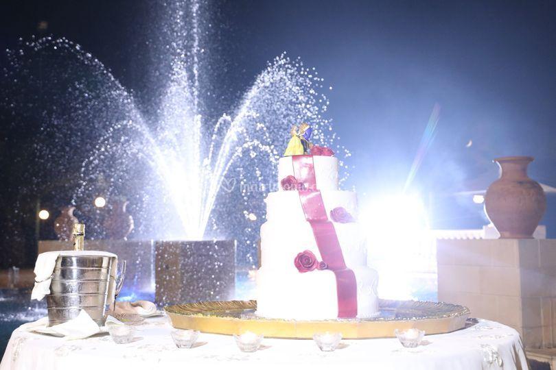 Wedding cake moment