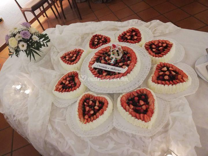 Torta Chantilly Frutti rossi