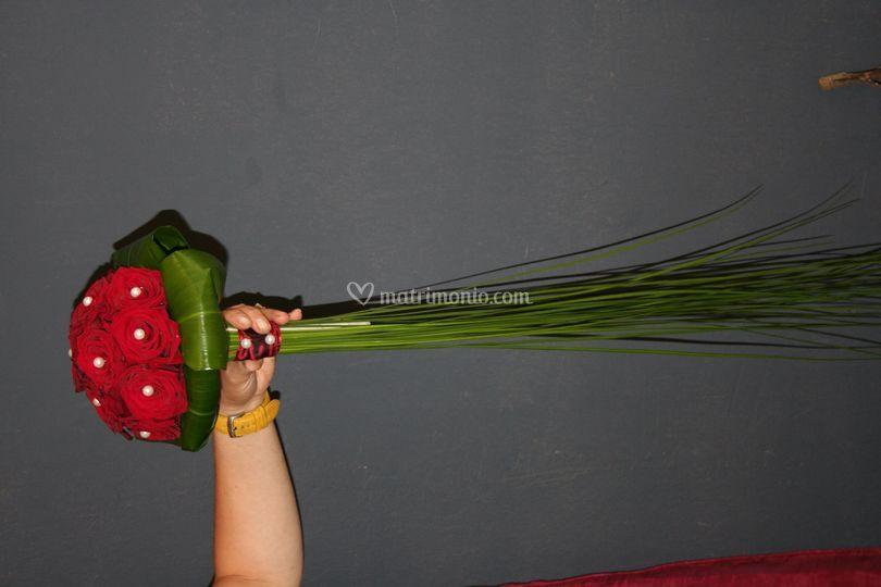 Buoquet di rose rosse