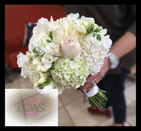 Bouquet bianco