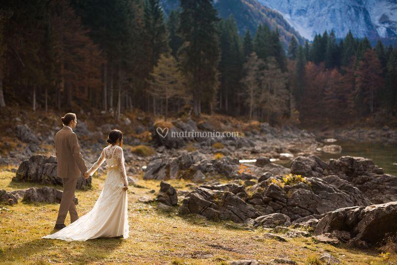 Matrimonio a Fusine Laghi