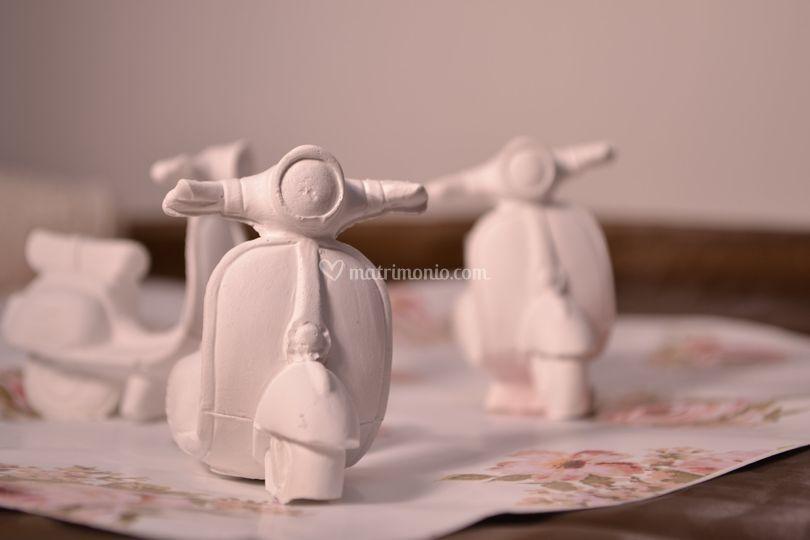 Vespa di ceramica