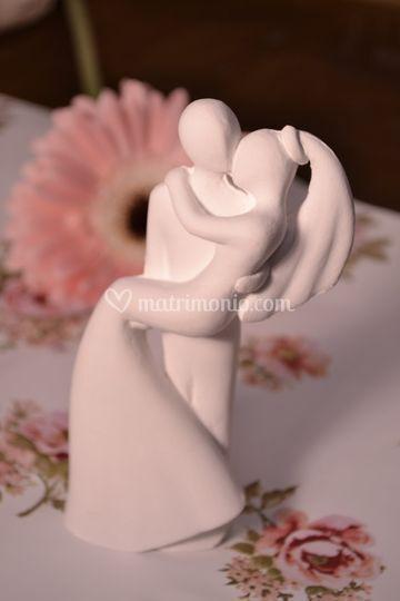 Sposi in ceramica