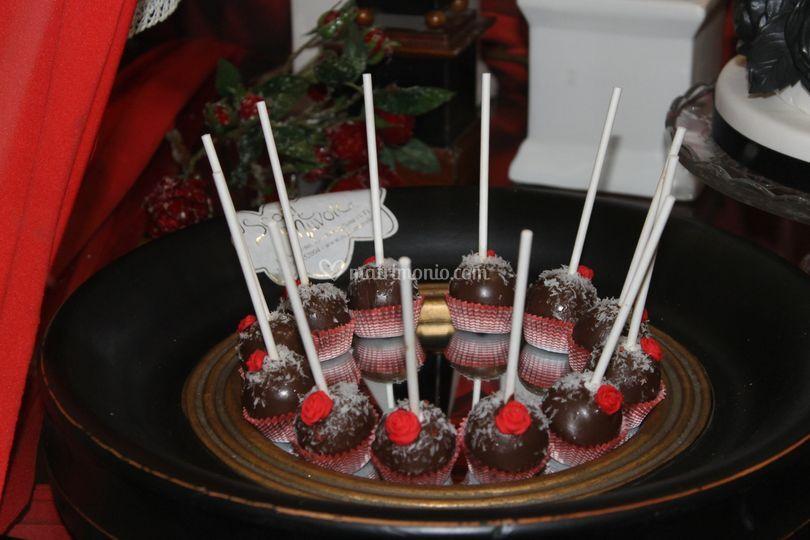 Cakepops cioccolato